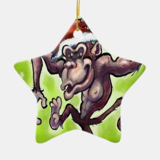 Chimpanzee Christmas Christmas Ornament