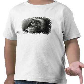 Chimpanzee Disappointed and Sulky Tee Shirt