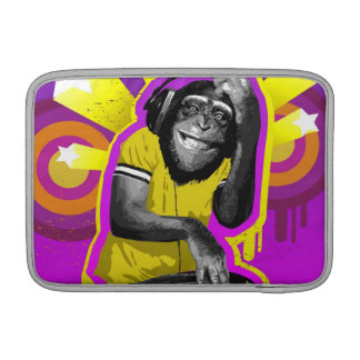 Chimpanzee DJ Sleeve For MacBook Air