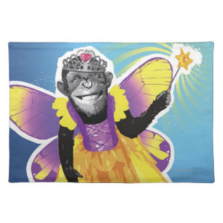 Chimpanzee Fairy Placemat
