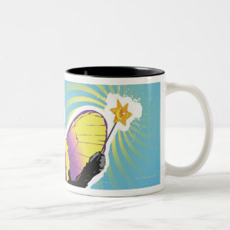 Chimpanzee Fairy Two-Tone Coffee Mug