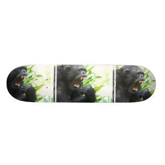 Chimpanzee Fangs Skateboard