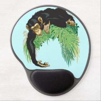 chimpanzee gel mouse pad
