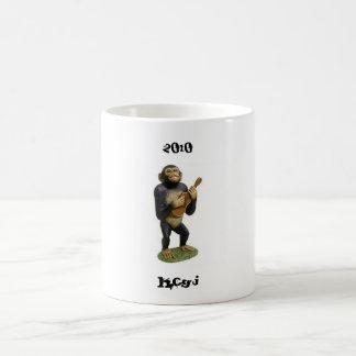 chimpanzee-guitar-player, HCGJ, 2010 Coffee Mug