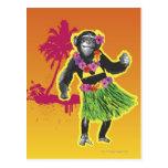 Chimpanzee Hula Dancing