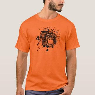 Chimpanzee in Black Splash T-Shirt