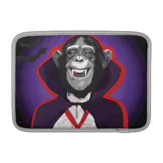 Chimpanzee in Dracula Costume Sleeve For MacBook Air