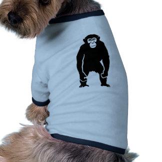 Chimpanzee monkey dog tee