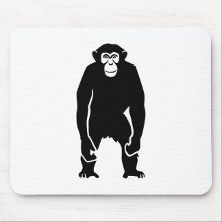 Chimpanzee monkey mousepads