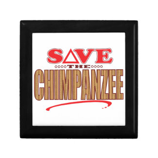 Chimpanzee Save Gift Box