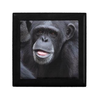 Chimpanzee Small Square Gift Box