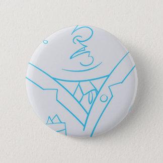 Chin 6 Cm Round Badge