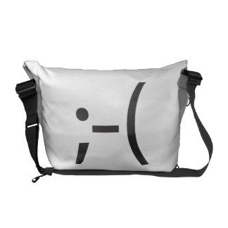 chin up ai messenger bag