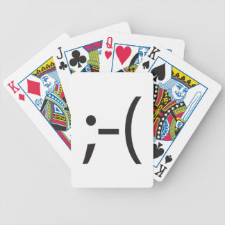 chin up ai bicycle card deck