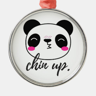 Chin Up Christmas Ornament