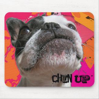 Chin Up French Bulldog Mousepad