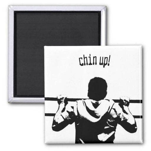 Chin Up! Fridge Magnets