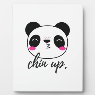 Chin Up Plaque