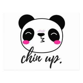 Chin Up Postcard