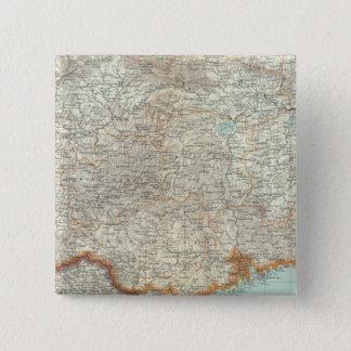 China 10 15 cm square badge