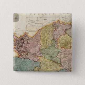 China 6 15 cm square badge