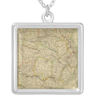 China 6 silver plated necklace