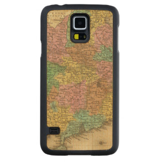 China 7 2 carved maple galaxy s5 case