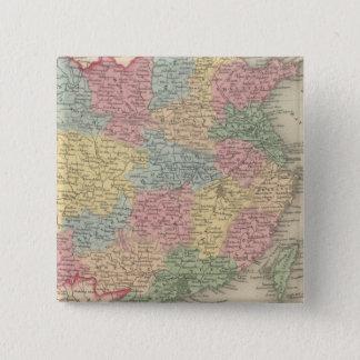China 8 15 cm square badge