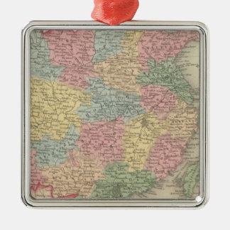 China 8 Silver-Colored square decoration