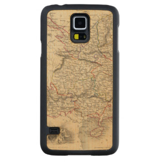 China And Burmah Carved Maple Galaxy S5 Case
