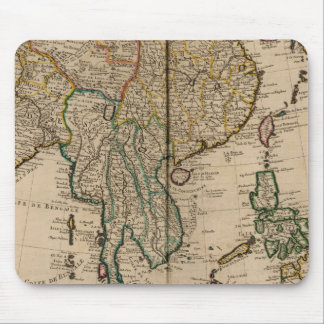 China and India Mouse Mat