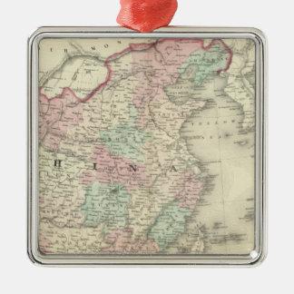 China and Japan 2 Christmas Tree Ornament