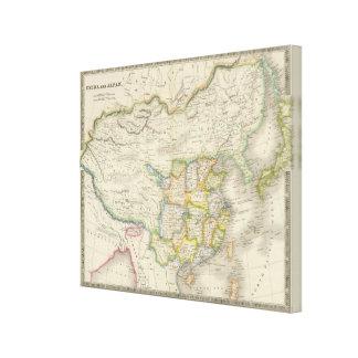 China and Japan Canvas Print