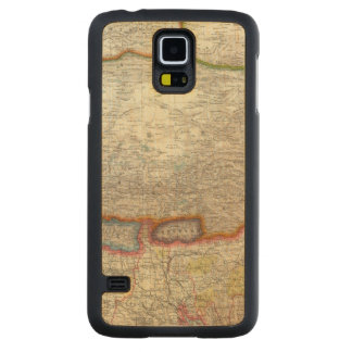 China and Tibet Carved Maple Galaxy S5 Case