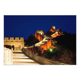 China, Badaling, Great Wall, view of Photo Print