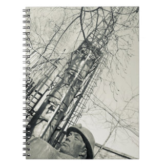 China, Beijing, Chaoyang District. Dashanzi 798 Spiral Notebook