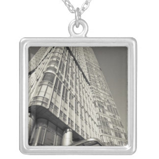 China, Beijing, Chaoyang District. Fortune Plaza 2 Silver Plated Necklace