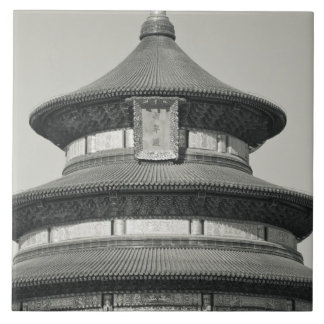 China, Beijing, Chongwen District. Temple of Tile