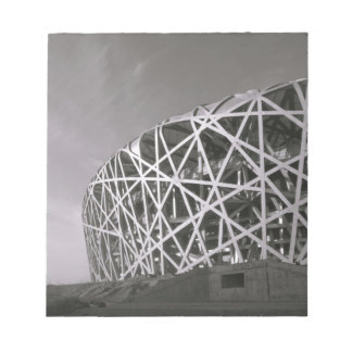 China, Beijing. National Stadium, Venue for the Notepad