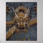 China, Beijing, The Forbidden City, Nine Dragon Poster