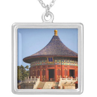 China, Beijing, Tian Tan Park, Temple of Heaven, 2 Silver Plated Necklace