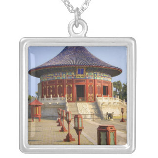 China, Beijing, Tian Tan Park, Temple of Heaven, Silver Plated Necklace