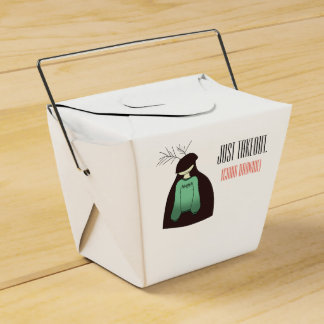 China Brownie takeout box! Favour Box