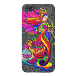 China Butterfly Woman iPhone 5 Cover