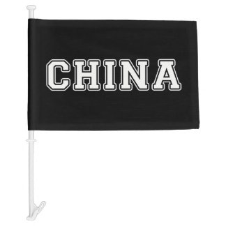 China Car Flag