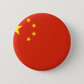 China; Chinese Flag 6 Cm Round Badge