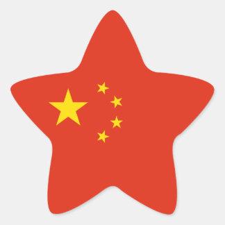 China – Chinese Flag Star Sticker