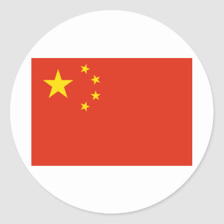 China Classic Round Sticker