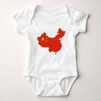 China CN 中华人民共和国 Baby Bodysuit
