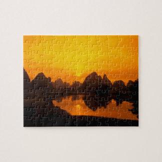 China. Colorful China. Beautiful Li river. Jigsaw Puzzle